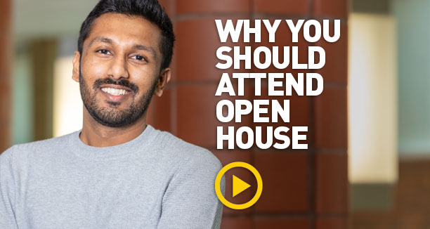 Why you should attend Virtual Spring Open House