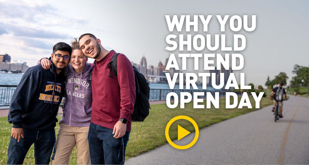 Why you should attend Virtual Open Day