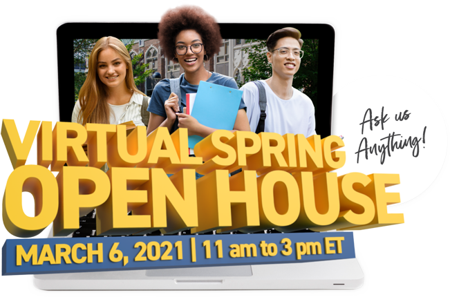 Attend UWindsor's Spring Open House - March 6, 2021 - 11 am to 3 pm ET