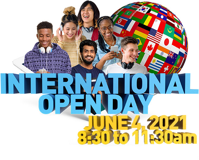 International Open Day - June 4, 2021 - 8:30 to 11:30am ET